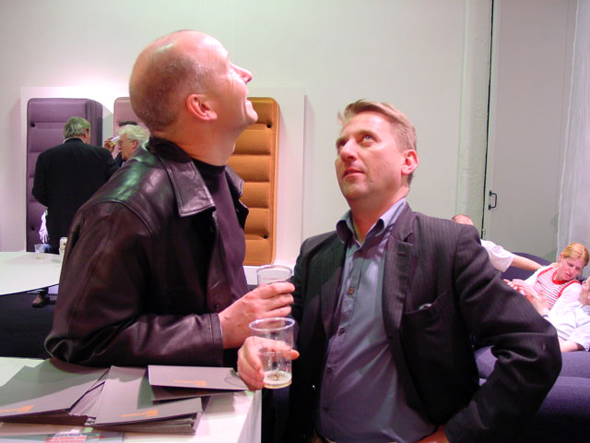 Terence Woodgate & James Irvine