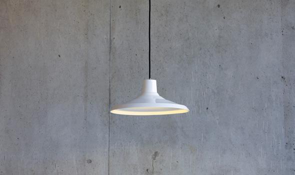 Adderley Works pendant light by Reiko Kaneko for SCP.