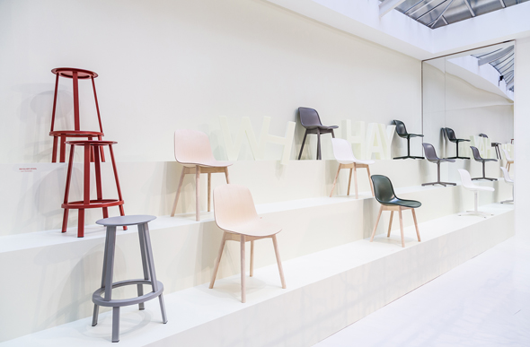 Revolver stool by Leon Ransmeier / Neu Chair by WH