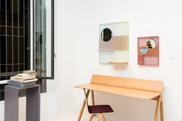Copenhague desk and chair by Ronan and Erwan Bouroullec
