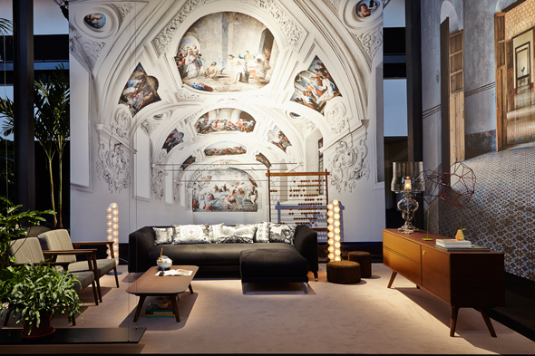 Moooi new collection at Via Savona