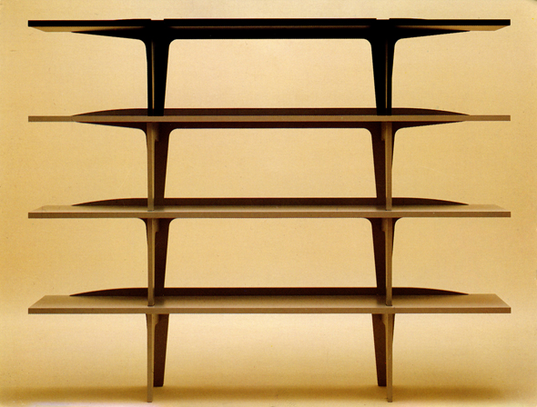Span Shelving by James Irvine for SCP