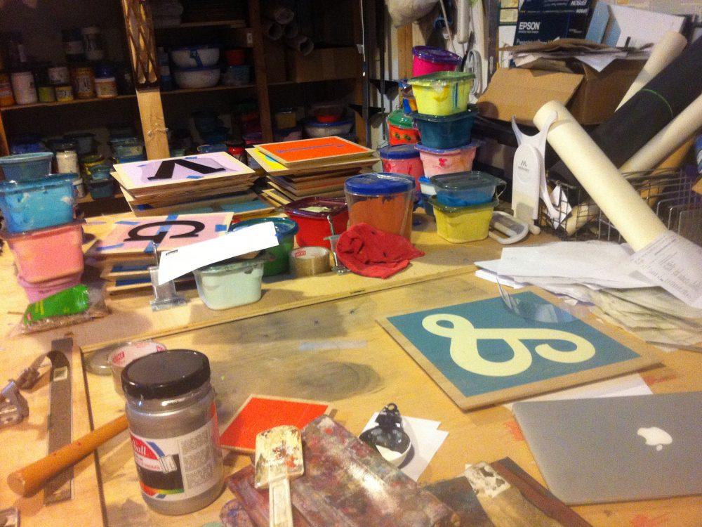 Marks desk 2