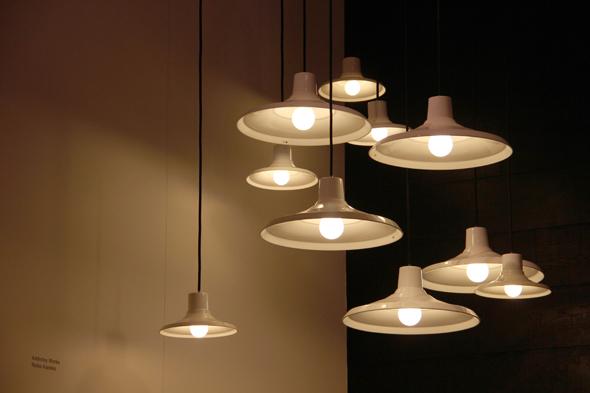 Adderley Works pendant lights by Reiko Kaneko