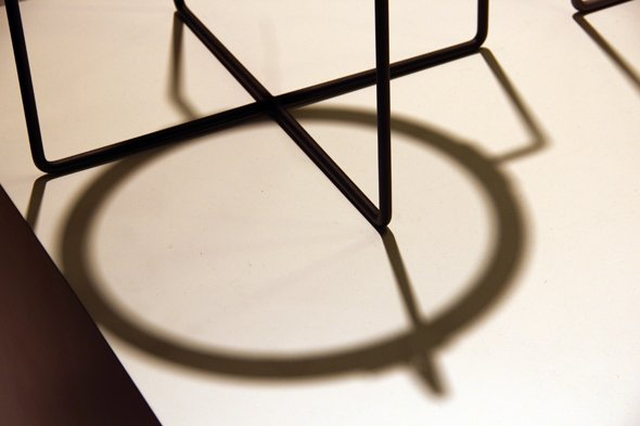 Side table by Jasper Morrison (detail)