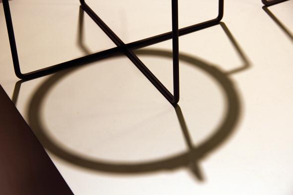 Side table by Jasper Morrison (detail)
