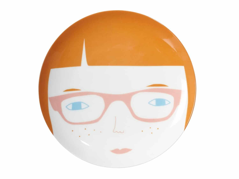 Ceramics---Plate---Gwen