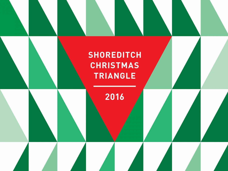 Shoreditch christmas triangle